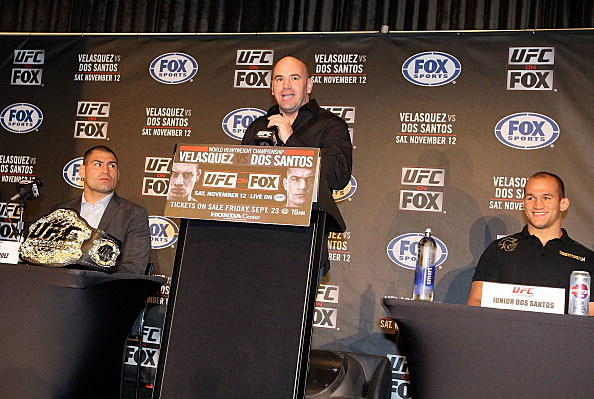 UFC on Fox: Velasquez v Dos Santos - Press Conference