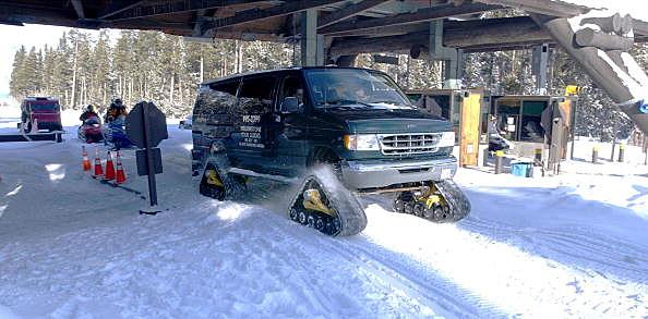 Yellowstone Park Snowcoach