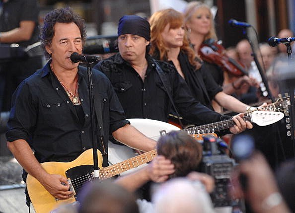 The Boss and the E Street Band