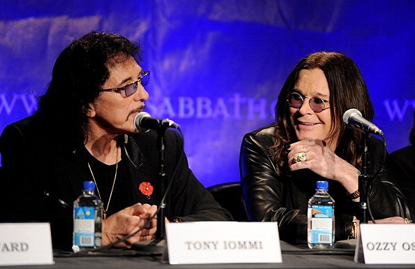 Black Sabbath-Ozzy and Tony