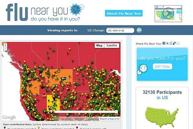 National Flu Map Youve Got The Flu - Current us flu map