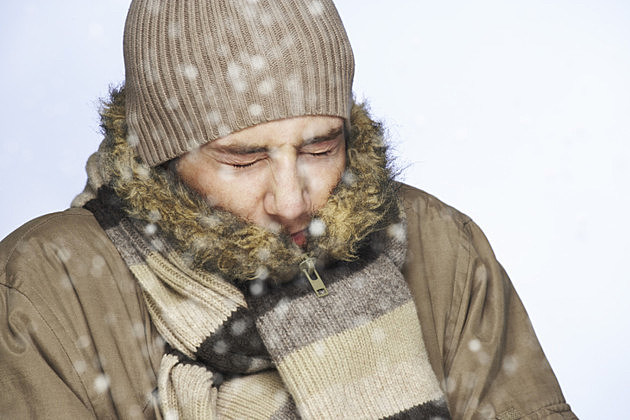 Cold Guy shivering