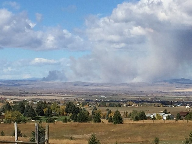 Photo from Gallatin County Emergency Management.