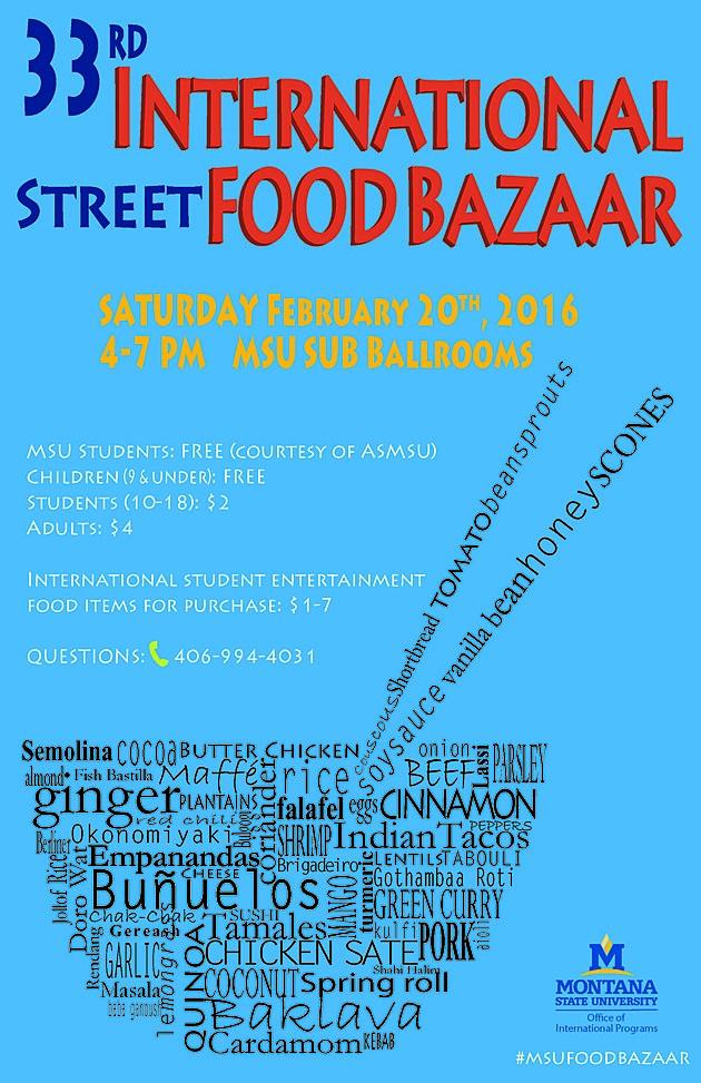MSU Food Bazaar 2016
