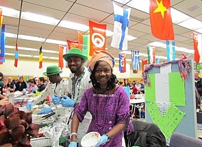 MSU International Food Bazaar - Photo International Programs MSU