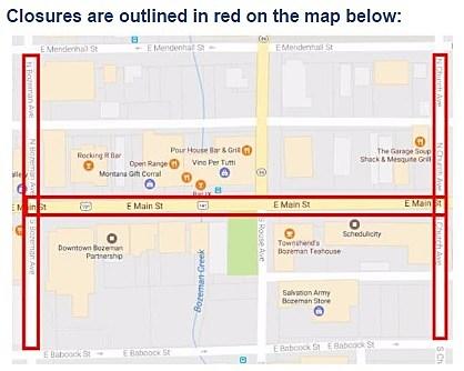 Run to the Pub road closures