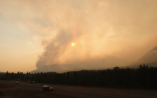Montana Forest Fire Causes Hundreds To Be Evacuated