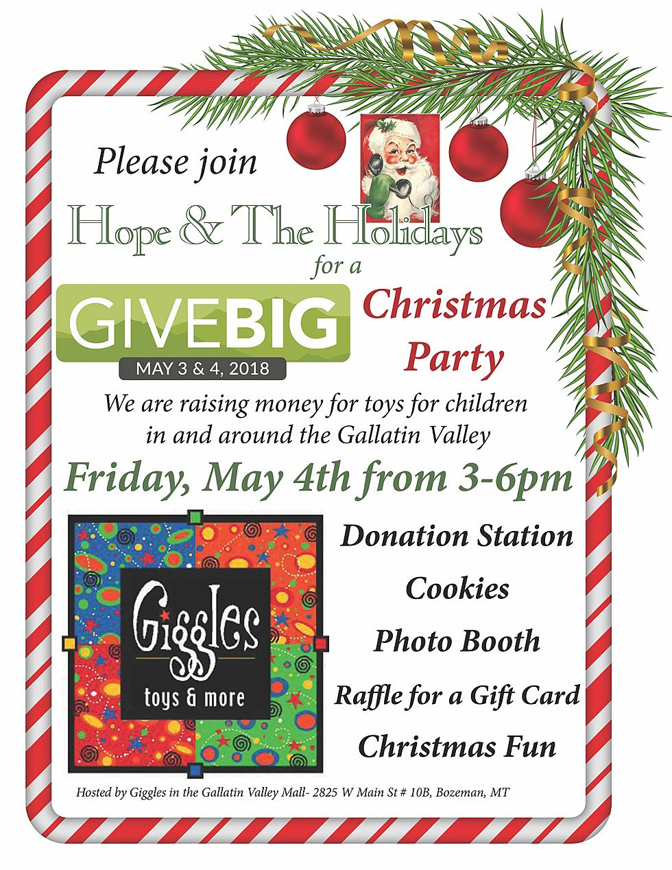Hope & The Holidays Give Big Christmas Party